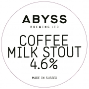 Coffee Milk Stout 4.6%