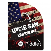 Uncle Sam Red Rye IPA 4.7%