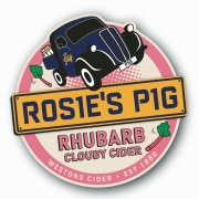 Rosie's Pig with Rhubarb Cloudy Cider 4.0%