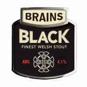 Brains Black Stout 4.1%