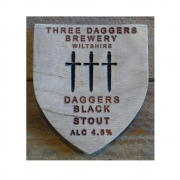 Daggers Black Stout 4.5%