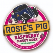 Rosie's Pig Cloudy Cider with Raspberry and Cucumber 4.0%
